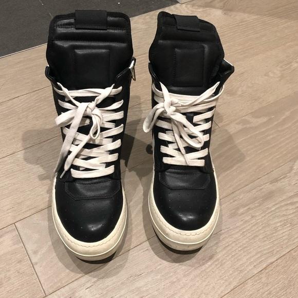 Rick Owens Shoes   Rick Owens Geobasket